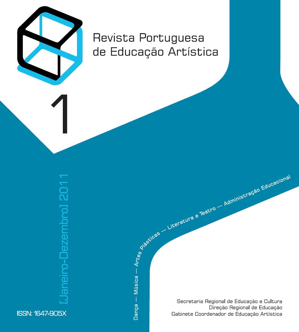Ver Vol. 1 (2011): Revista Portuguesa de Educação Artística