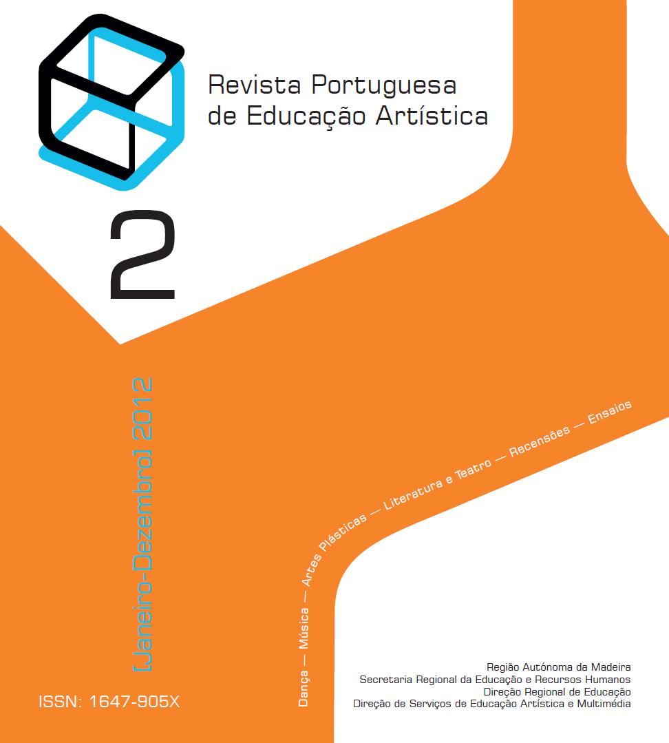 Ver Vol. 2 (2012): Revista Portuguesa de Educação Artística