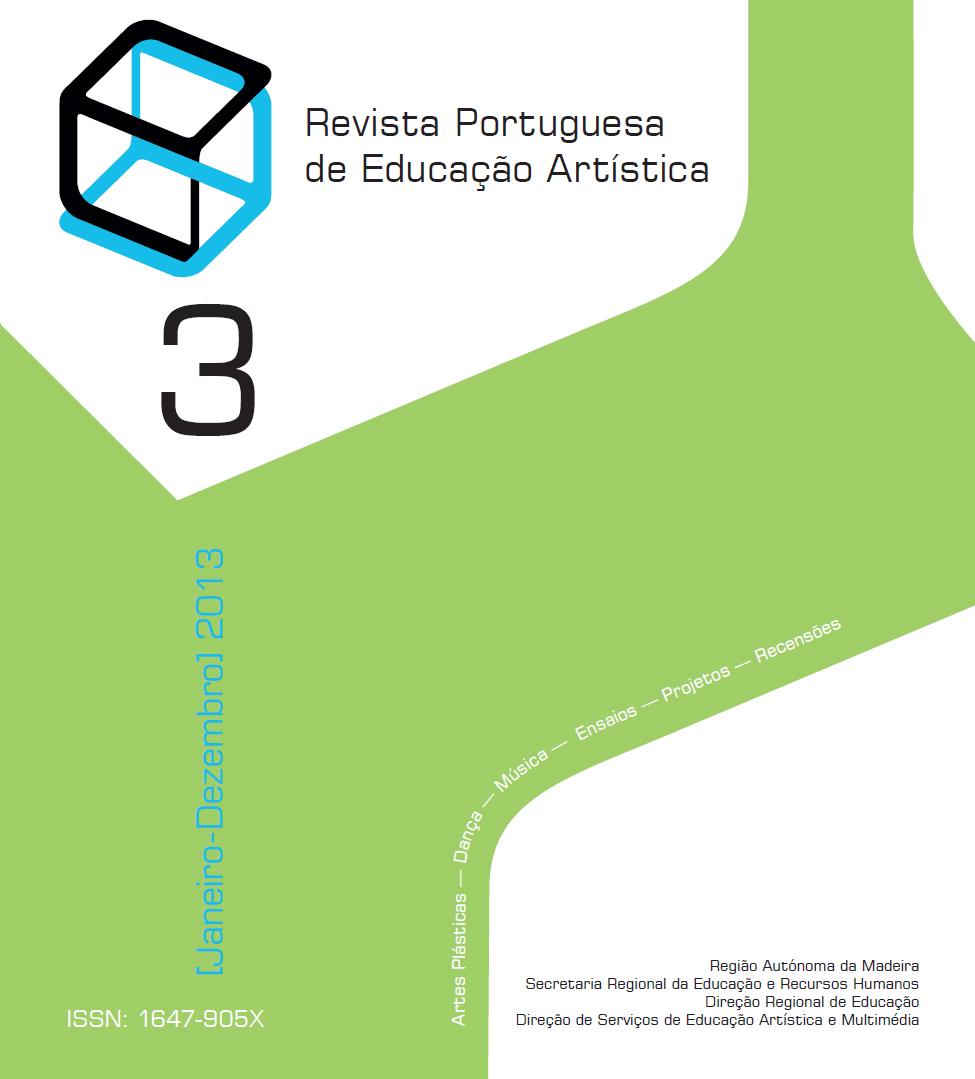 Ver Vol. 3 (2013): Revista Portuguesa de Educação Artística