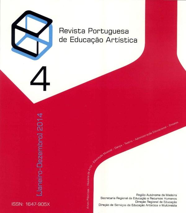 Ver Vol. 4 (2014): Revista Portuguesa de Educação Artística